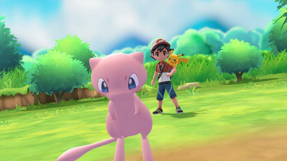 Eerste stappen in Pokémon Let's Go Pikachu/Eevee