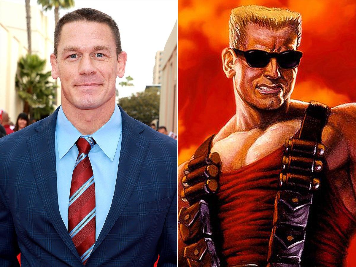 John Cena mogelijk de nieuwe Duke Nukem