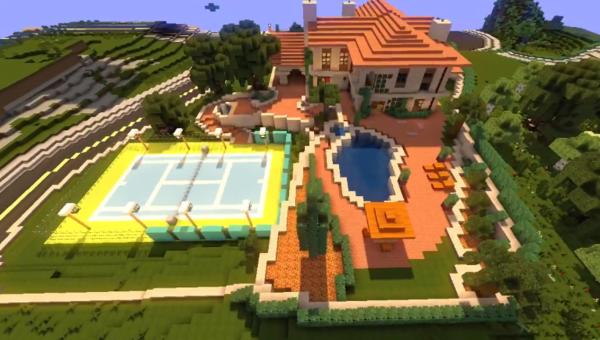 Minecraft xbox 360 edition is 12 miljoen keer verkocht - Te bouwen zijn bibliotheek ...